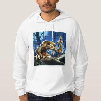 Werewolf Shaman Of The Forrest Hoodie