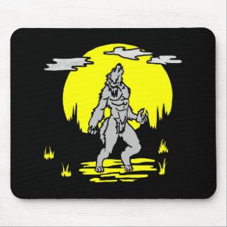 Werewolf Square Mousepad