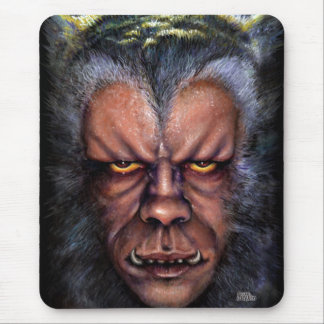 Werewolf Stare Mouse Pads