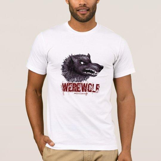 Werewolf t-shirt design