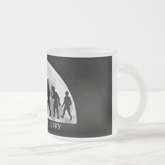 Werewolf Theory 10 oz Frosted Glass Mug