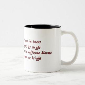 Werewolf Two-Tone Coffee Mug