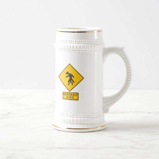Werewolf XING Mug