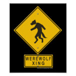 Werewolf XING Posters