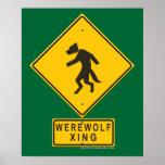 Werewolf XING Print