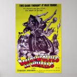 Werewolves on Wheels Poster