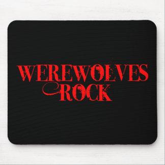 Werewolves Rock Mouse Mat