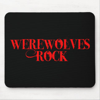 Werewolves Rock Mouse Pad