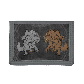 Werewolves Trifold Wallets