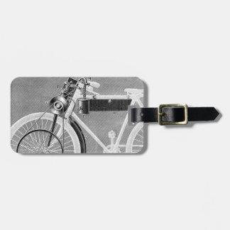 Werner Motorcycle, 1898 Luggage Tag