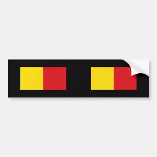 Wervik Belgium Bumper Stickers
