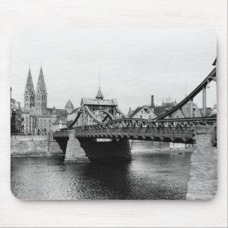 Weser Bridge, Bremen, c.1910 Mouse Mat