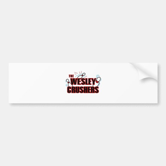 Wesley Crushers Bumper Sticker