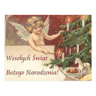 Wesolych Swiat Bozego Narodzenia Merry Christmas Postcard