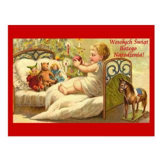 Wesolych Swiat Bozego Narodzenia Szczesliwego.... Postcard