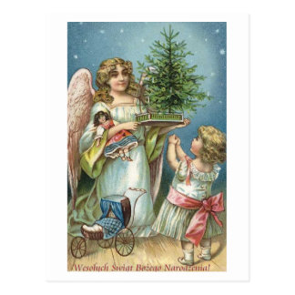 Wesolych Swiat Bozego Narodzenia Szesliwego Nowego Postcard