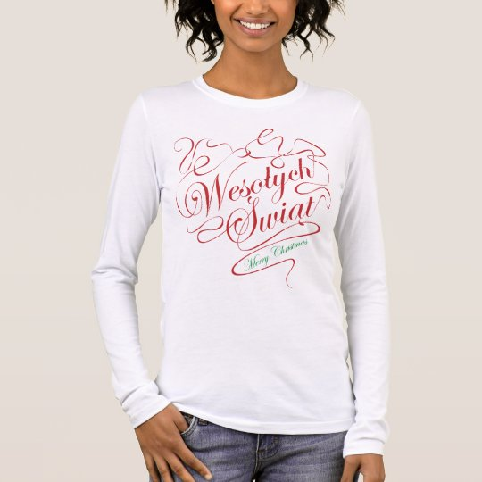 Wesolych Swiat Long Sleeve T-Shirt