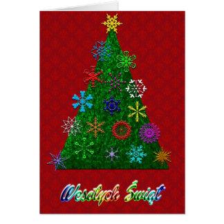 Wesolych Swiat -Merry Christmas Card