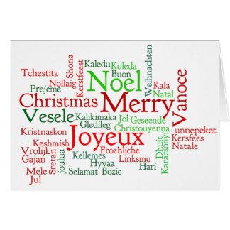Wesołych Świąt ...! Merry Christmas in Polish wf Card