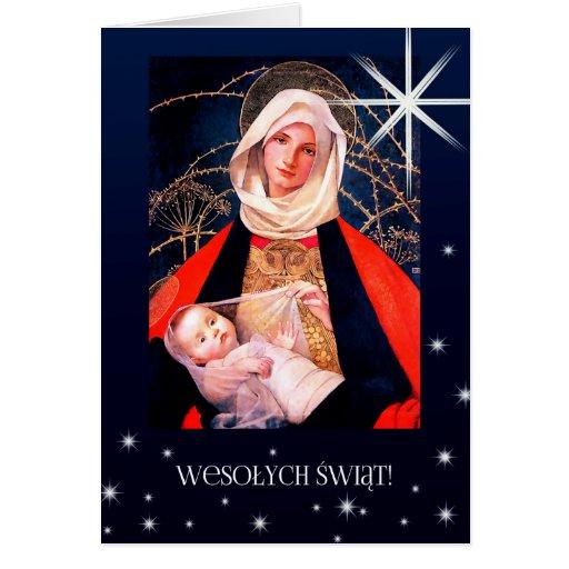 Wesolych Swiat. Polish Fine Art Christmas Cards