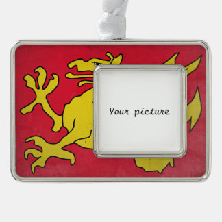 Wessex Silver Plated Framed Ornament