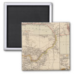 West Africa 2 Square Magnet