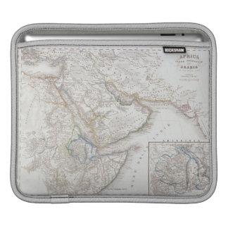 West Africa and Arabia iPad Sleeve