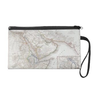 West Africa and Arabia Wristlet Purses