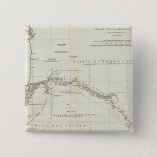 West Africa with Geographical Notes 15 Cm Square Badge