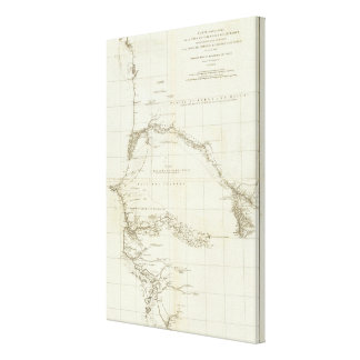 West Africa with Geographical Notes Canvas Print
