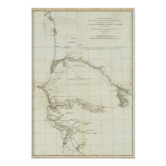 West Africa with Geographical Notes Poster