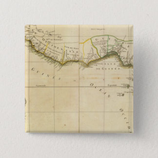 West and Central Africa 15 Cm Square Badge