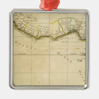 West and Central Africa Christmas Ornament