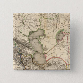 West Asia 15 Cm Square Badge