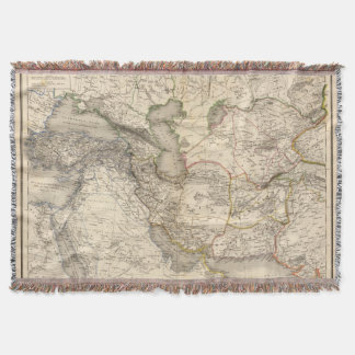 West Asia Throw Blanket