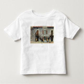 West Barracks, Ethan Allen Stairway Scene Toddler T-Shirt
