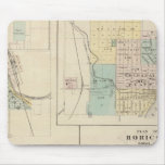 West Bend, Port Washington, Hartford and Horicon Mouse Pad
