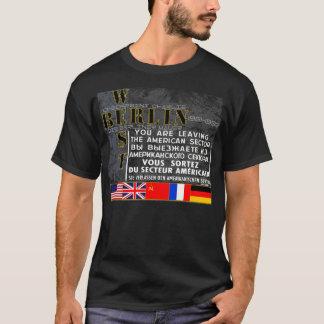 West Berlin - Die Berliner Mauer T-Shirt