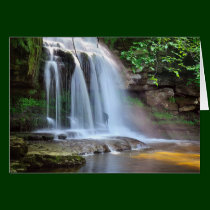 West Burton Falls The Yorkshire Dales Card
