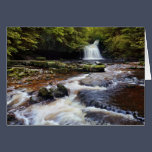 West Burton Falls The Yorkshire Dales Greeting Card