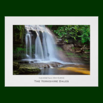 West Burton Falls, The Yorkshire Dales Poster