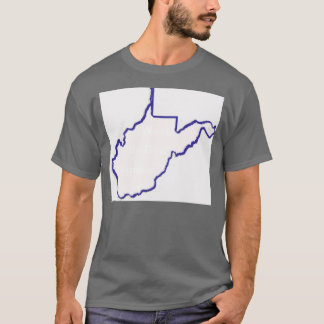 """west by god 2,  West , Virginia,   """"By God"""" T-Shirt"""