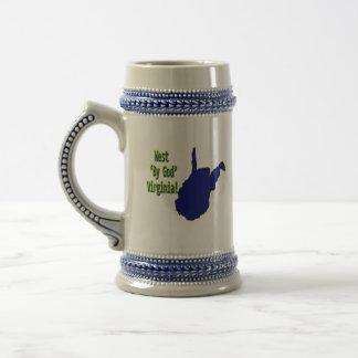 West 'By God' Virginia mug
