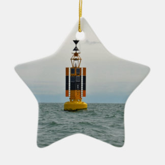 West Cardinal Buoy Christmas Ornament