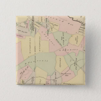West Chester, New York 15 Cm Square Badge