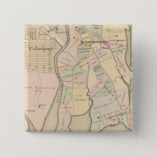 West Chester, Schuylerville, New York 15 Cm Square Badge