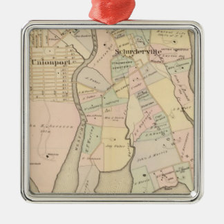 West Chester, Schuylerville, New York Christmas Ornament