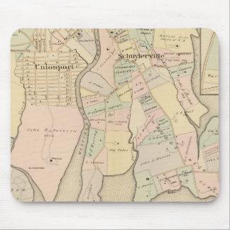 West Chester, Schuylerville, New York Mouse Mat
