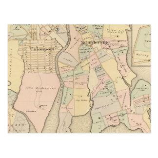 West Chester, Schuylerville, New York Postcard