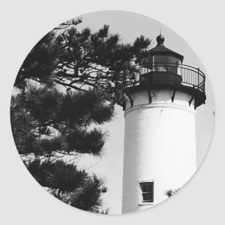West Chop Lighthouse Round Sticker